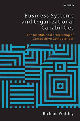 Business Systems and Organizational Capabilities book