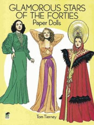 Glamorous Stars of the Forties Paper Dolls book