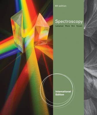 Introduction to Spectroscopy, International Edition by Donald L. Pavia