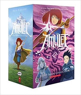 AMULET 8 BOOK BOXED SET by Kazu Kibuishi