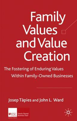 Family Values and Value Creation book
