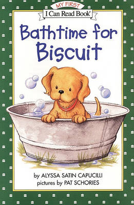 Bathtime for Biscuit book