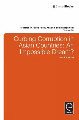 Curbing Corruption in Asian Countries by Jon S. T. Quah