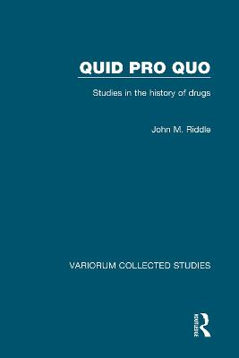 Quid Pro Quo by John M. Riddle