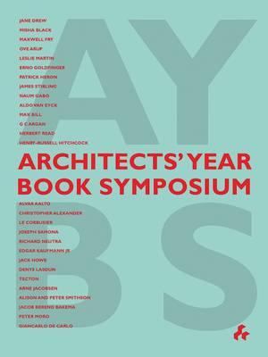 Architects' Year Book Symposium by Trevor Dannat