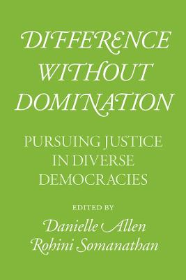 Difference without Domination - Pursuing Justice in Diverse Democracies book