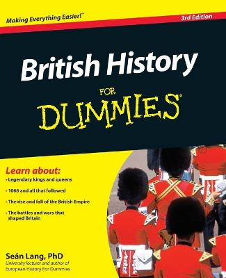British History For Dummies by Sean Lang