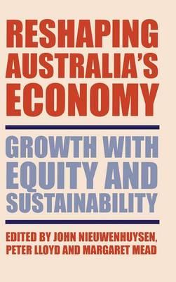 Reshaping Australia's Economy book