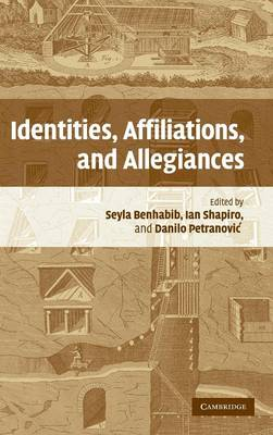 Identities, Affiliations, and Allegiances book