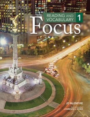 Reading and Vocabulary Focus 1 book
