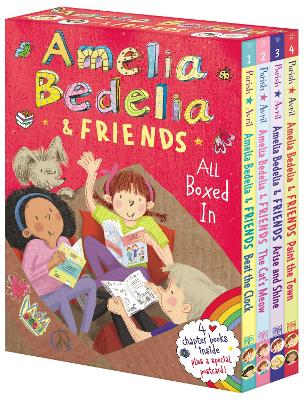 Amelia Bedelia & Friends Chapter Book Boxed Set #1: All Boxed In by Herman Parish