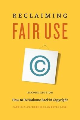 Reclaiming Fair Use book