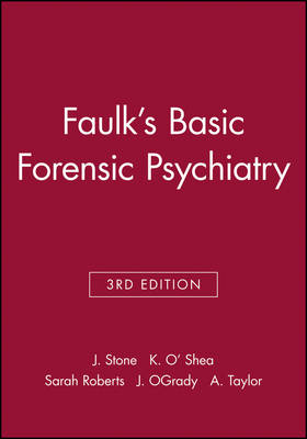 Faulk's Basic Forensic Psychiatry book