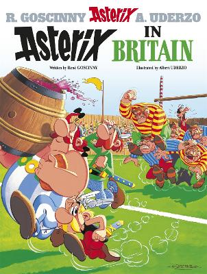 Asterix: Asterix in Britain book