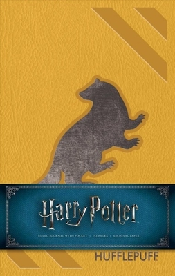 Harry Potter Hufflepuff Hardcover Ruled Journal: Redesign by Insight Editions
