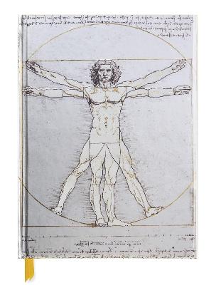 Da Vinci: Vitruvian Man (Blank Sketch Book) book