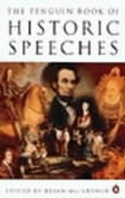 The The Penguin Book of Historic Speeches by Brian MacArthur