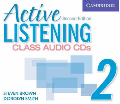 Active Listening 2 Class Audio CDs book