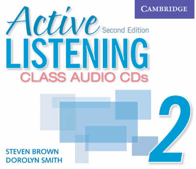 Active Listening 2 Class Audio CDs book