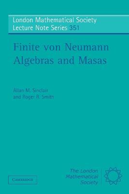 Finite von Neumann Algebras and Masas book