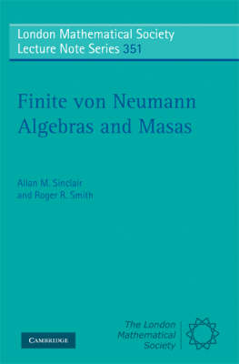 Finite von Neumann Algebras and Masas book