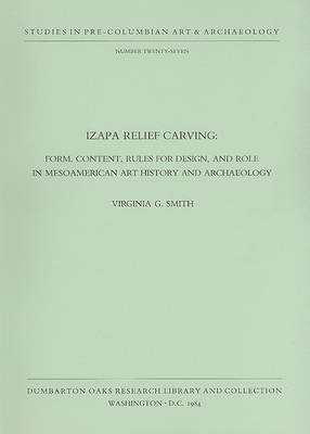 Izapa Relief Carving: v. 27 by V. Smith
