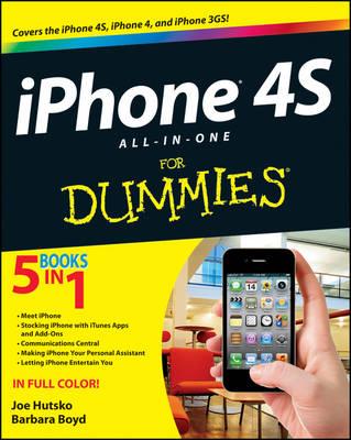 iPhone 4S All-in-One For Dummies by Joe Hutsko
