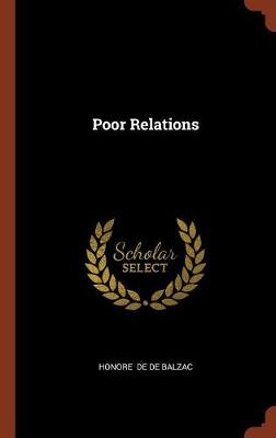 Poor Relations by Honore De Balzac