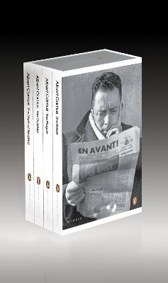 The Essential Camus Boxed Set: The Myth of Sisyphus, The Outsider, The Plague, The Rebel by Albert Camus
