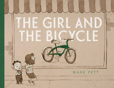 Girl and the Bicycle by Mark Pett