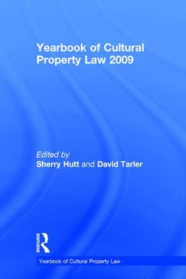 Yearbook of Cultural Property Law 2009 book