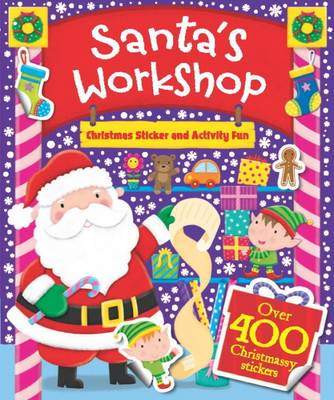 Santa's Workshop Sticker Activity Book by