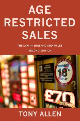Age Restricted Sales by Tony Allen