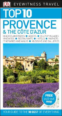 Top 10 Provence and the Cote d'Azur by DK Travel