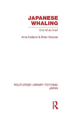 Japanese Whaling? by Arne Kalland