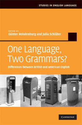 One Language, Two Grammars? book