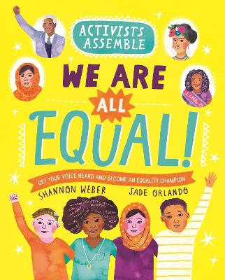 Activists Assemble: We Are All Equal! book
