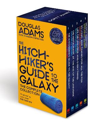 The Complete Hitchhiker's Guide to the Galaxy Boxset by Douglas Adams
