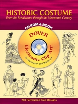 Historic Costume CD Rom and Book by Tom Tierney