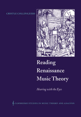 Reading Renaissance Music Theory book