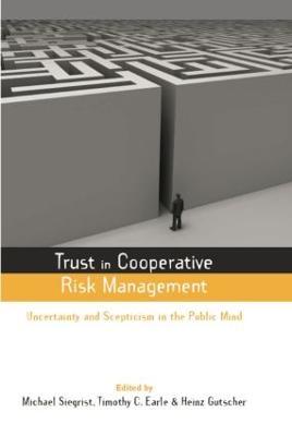 Trust in Cooperative Risk Management book