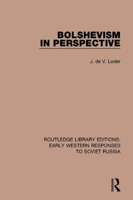Bolshevism in Perspective book
