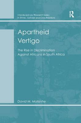 Apartheid Vertigo by David M. Matsinhe
