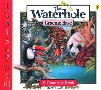 The The Waterhole Board Book by Graeme Base