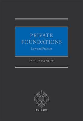 Private Foundations: Law and Practice book