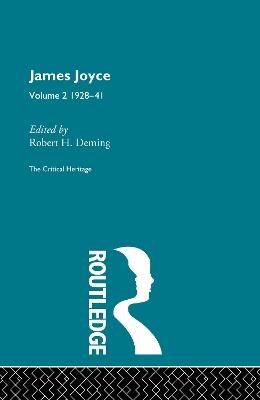 James Joyce.  Volume 2: 1928-41 book