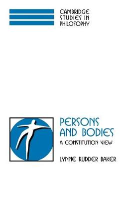 Persons and Bodies book