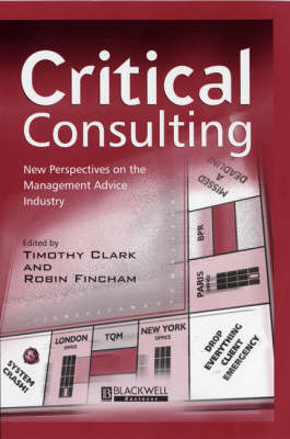 Critical Consulting book