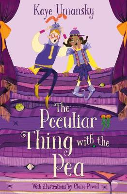 The Peculiar Thing with the Pea book