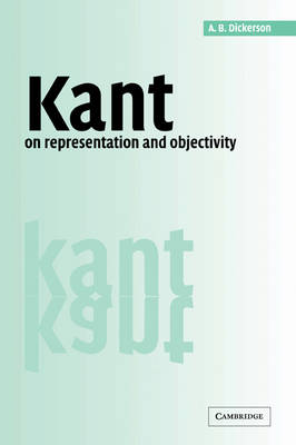 Kant on Representation and Objectivity book